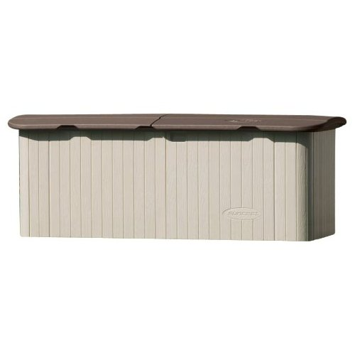 horizontal storage shed review 0 suncast garbage can storage shed