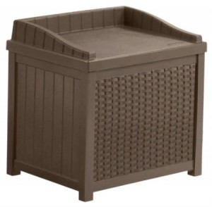 Suncast SSW1200 Wicker Deck Box